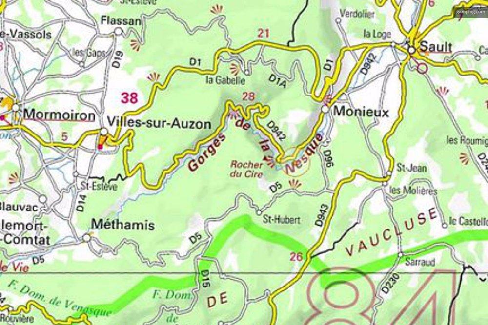 Aire camping-car à Villes-sur-Auzon (84570) - Photo 4